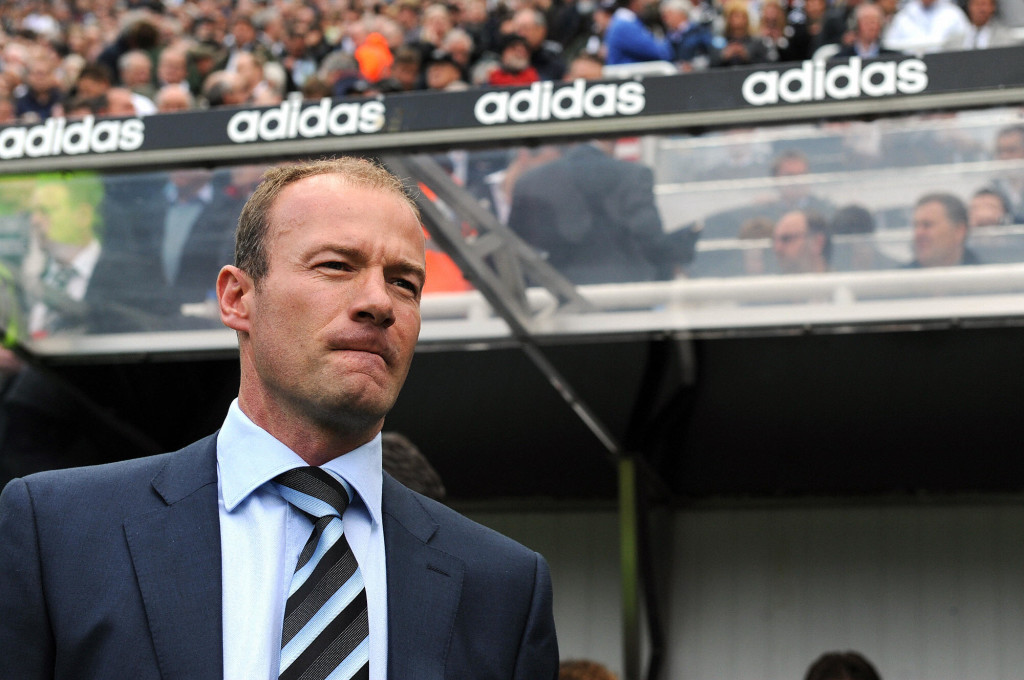 Shearer couldn't save boyhood club Newcastle from relegation.