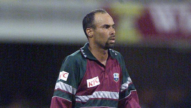 West Indies legend: Jimmy Adams.
