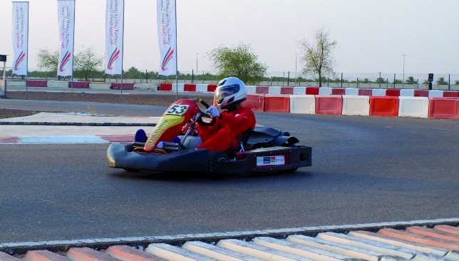 Have fun: Drivers as young as seven can enjoy karting at the top-class venue.