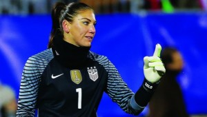 Outspoken and unwanted: Hope Solo's international career is on the brink.