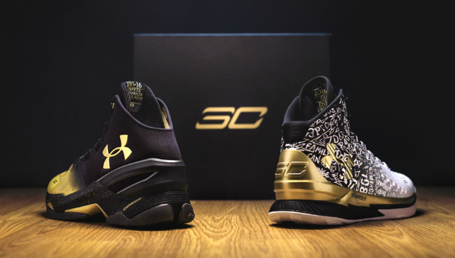 limited edition Stephen Curry shoes