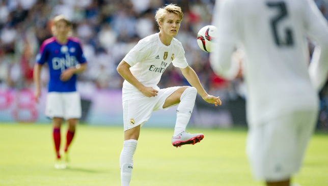 Odegaard has yet to breakthrough regularly at Los Blancos.