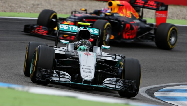 Verstappen thought he and Rosberg would crash
