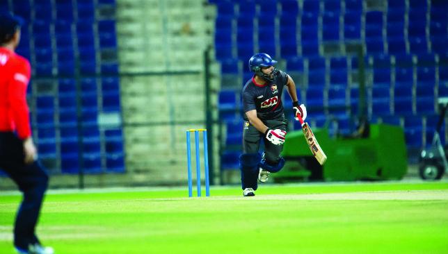 Run machine: Rameez Shahzad