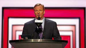 Goodell is a divisive figure.