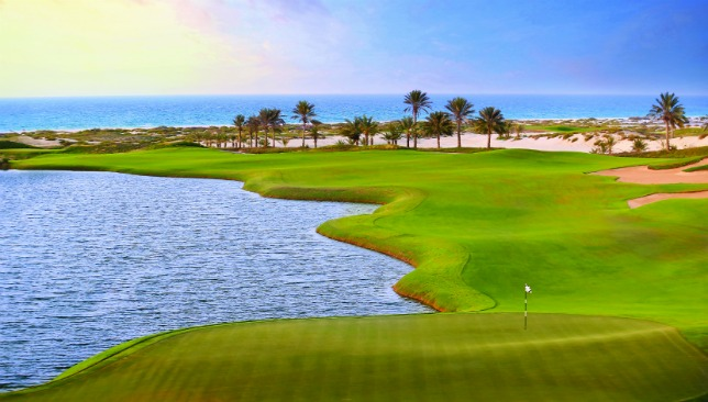 Saadiyat's greens have reacted well to the high temperatures, according to Clinton Norris.