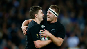 Sam Cane and Beauden Barrett