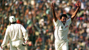 Srinath was extraordinary in whatever he did.