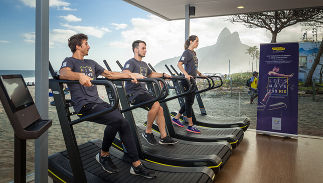 Technogym: At the heart of things in Rio.