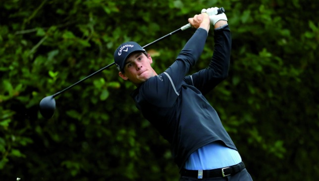 Thomas Pieters is just one of the stars in action.