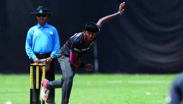 Setting an example: Yodhin Punja will captain the UAE Under-19 for the first time.