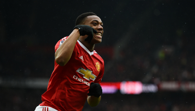 From forward to midfielder: Anthony Martial