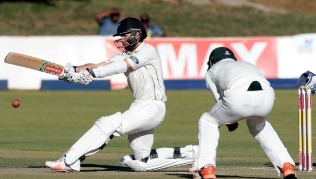 Aylor, Williamson centuries boost New Zealand to massive total
