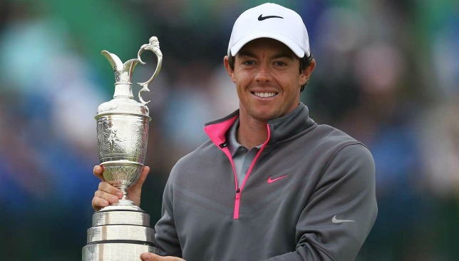 Rory McIlroy  wins 2014 British Open  major.