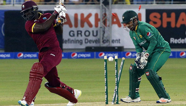 A number of poor shots cost the West Indies.