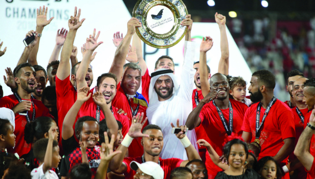 Be there: UAE's football silverware will be on display