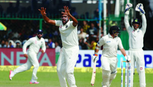 Ashwin has left New Zealand in a spin.