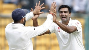 Ravichandran Ashwin became the fastest Indian bowler to pick up 200 Test wickets