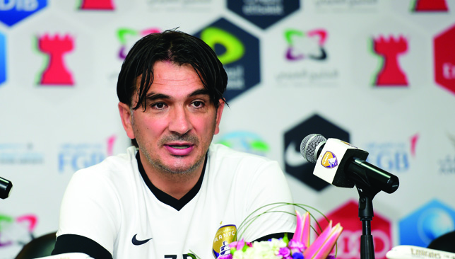 Al Ain boss Zlatko Dalic backs his players to deliver at ...