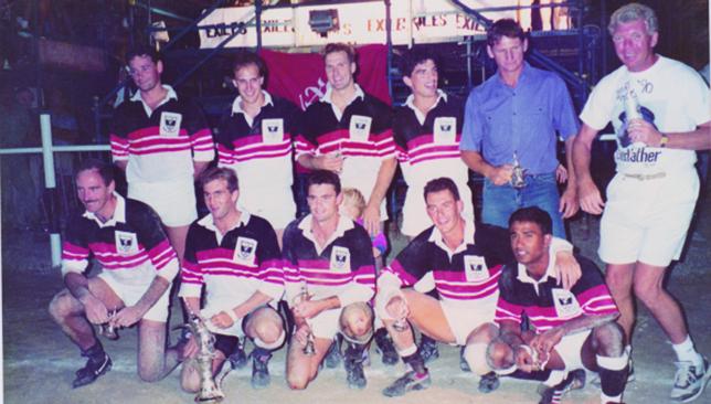 Winning habit: Gulf champions 1990.