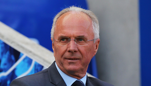 Sven Goran Eriksson.