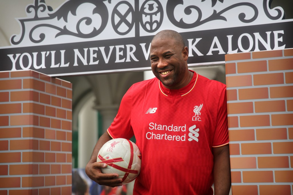 John Barnes played for the Anfield club for 10 years and was part of the last Liverpool team to win the English league title.
