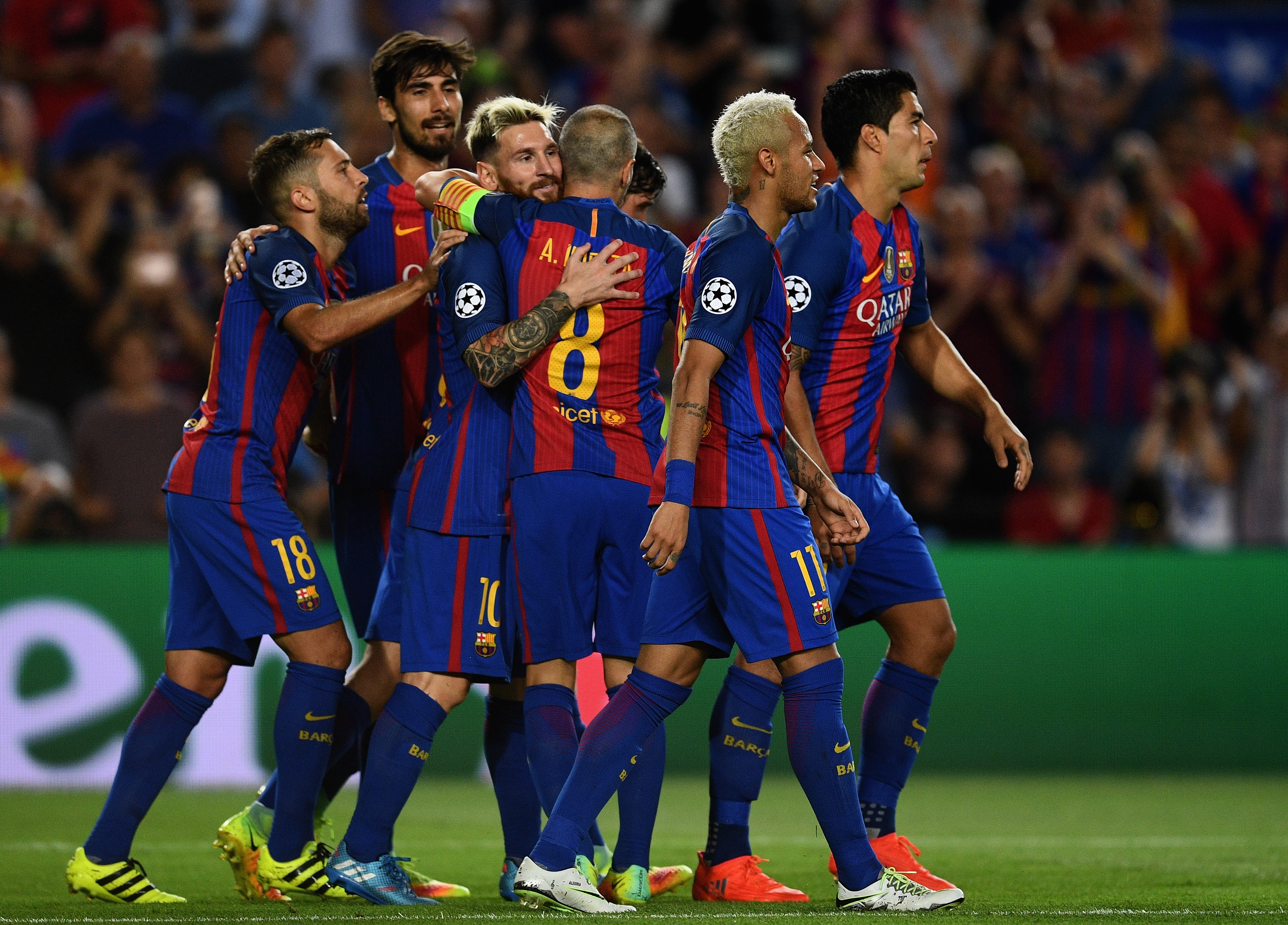 126632b33 GALLERY  Champions League round-up  Barcelona blow Celtic away ...