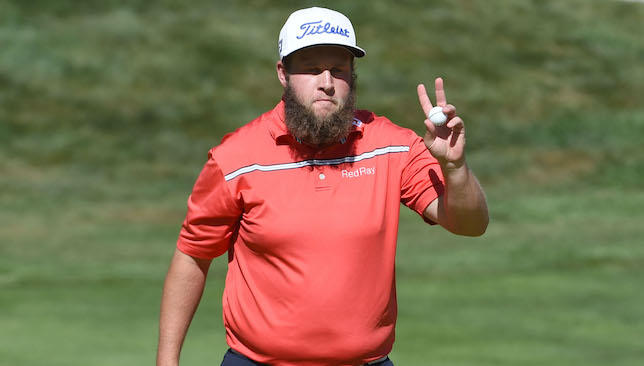 Fine form: Andrew Johnston.