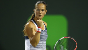 Dasha be cool: Kasatkina at Indian Wells.