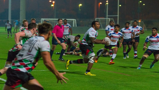 Battering ram Willie Umu was at his rampaging best for Quins