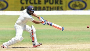 Rohit Sharma finally showed some form with the bat in Test cricket