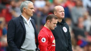 Rooney came off the bench in the second-half against Leicester.