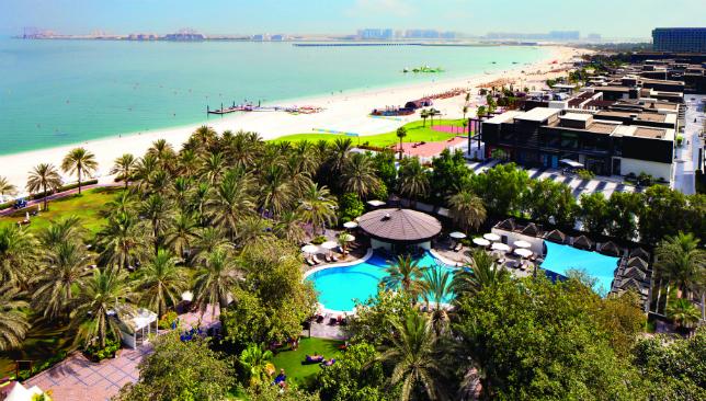 Picturesque: Dubai's Sheraton Jumeirah Beach Resort.