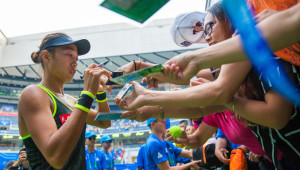 Fan favourite: Zhang Shuai (Credit: Visual China Group)