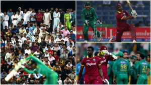 Pakistan barely broke a sweat in claiming victory.