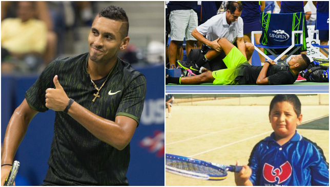 Kyrgios has options...