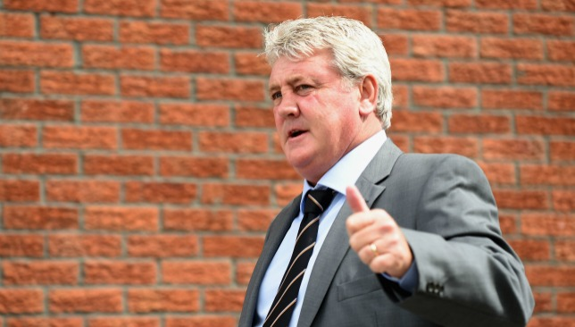 Steve Bruce is believed to be Newcastle's first choice.