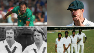 We discuss the evolution of fast bowling.