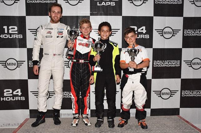 SWS Senior Winners at Dubai Kartdrome