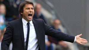 Conte is still adapting to life in the Premier League.