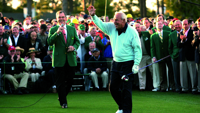 The gentleman of golf: Arnold Palmer will be sorely missed.