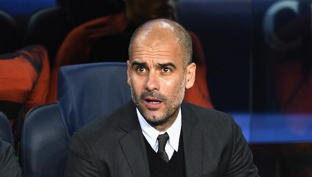 Concerns: Pep Guardiola.