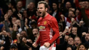 Mata netted a second-half winner for United.
