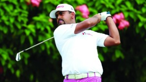 Anirban's affection: Lahiri has enjoyed two fine weeks on golf courses he enjoys.