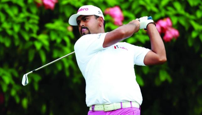 Anirban's affection: Lahiri has enjoyed two fine weeks on golf courses he enjoys.
