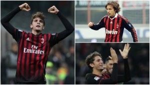 Midfield maestros: Locatelli has been compared to legendary Pirlo.