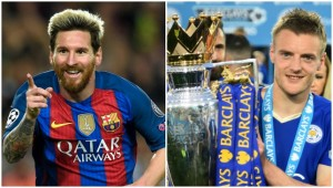 Messi and Vardy: Both have enjoyed memorable 2016s.