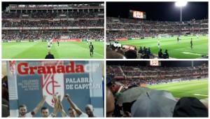 VIbrant atmospher: Estadio Nuevo Los Carmenes.
