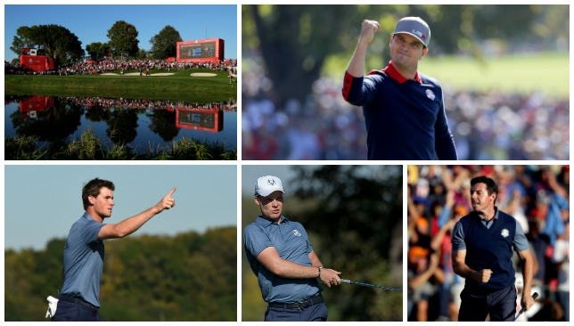 Mixed fortunes: Ryder Cup Day 1.