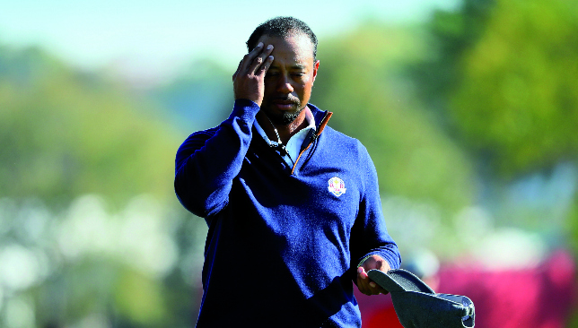In his own time: Tiger Woods pulled out of the Safeway Open and Turkish Airlines Open